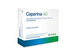 Enoxparina - Coparina 40 Iclos